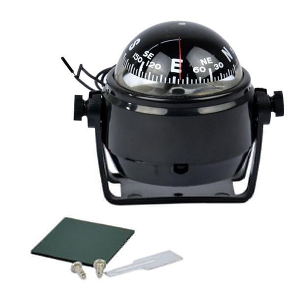 New Hot Car 12V LED Light Sea Marine elettronico digitale Auto Compass Truck Boat Caravan Bussola universale