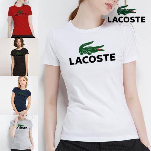 2018 top woman hochwertige baumwolle marken brief drucken t-shirt casuals stil für sport frauen polos s-xl