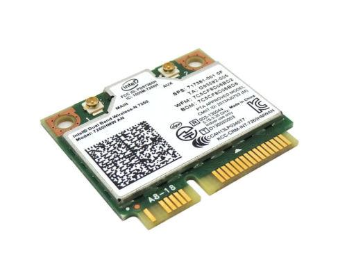 Wireless Adapter Card for Intel Wireless-N 7260 (7260HMW AN) abgn Wi-Fi + Bluetooth 4 Mini PCIe for hp 717381-001 717381