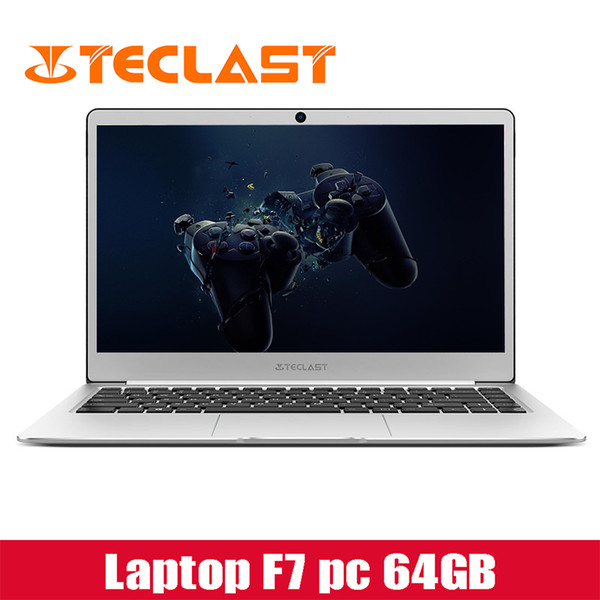 top popular Teclast F7 notebooks 14inch ram6G 64gb rom Windows10 1920*1080ips 16 9screen gaming laptop Intel HD 1.24kg with keyboard company 2019