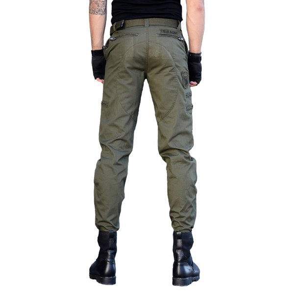 Tactical Cargo Pants Men Military Airborne Paintball Pants Army Active SWAT Combat Pants Casual Cotton Black Cargo Trousers