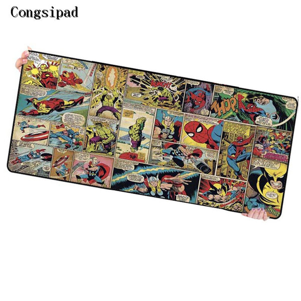 Congsipad Shop Movie Large Size XL 9000*400*3mm Keyboard Mat Desk Mat Computer Game Tablet Game Gaming For CSGO DOTA Mouse Pad