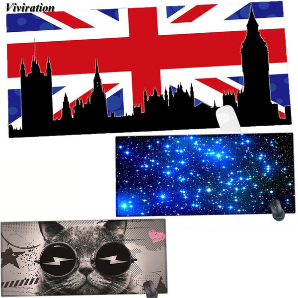 For 900x400mm XL Gaming Mouse Pad Viviration Computer Keyboard Desk Mat For World of /Steelseries/Dota 2/Lol