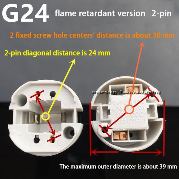 Flame Retardant Version 2-pin