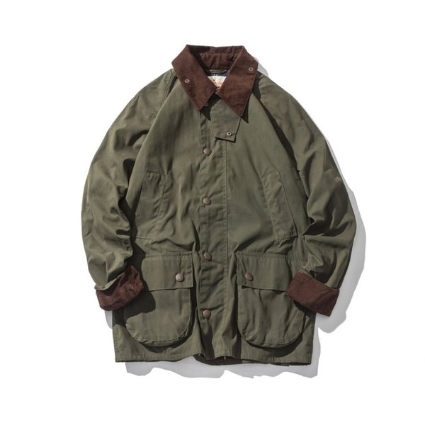 Auf Jacke Großhandel dhgate Von comDhgate Männer Yuedanya229 Wachs Trenchcoat Öl Vintage Mantel Gewachste De Wasserdichte Kleidung 9 FKl13TJc