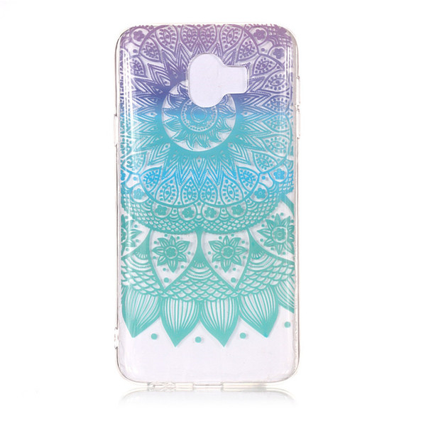 Soft Case For Huawei Honor 10 TPU IMD Skull Cover Skin Silicone Plastic Flower Honor 10 Cellphone Protective Cases