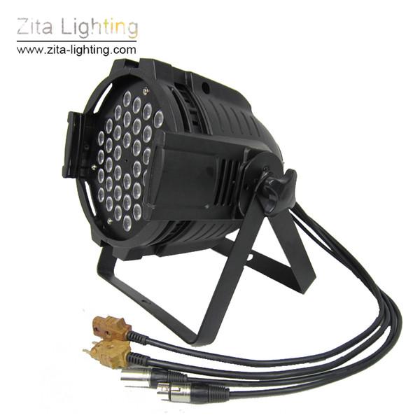 Zita Lighting CREE LED 36X3W Par Cans 36X1W Par Lights Par64 High Power Brighten Wall Washer DMX512 DJ Disco Stage Equipment RGB Effect