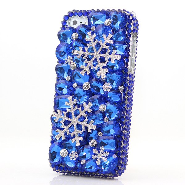 snowflake Rhinestone Case+handmade diamond Cover Case For xiaomi Max 2/Mix 2S/mi 6X/5X/A1/A2/Redmi 5 plus/4A/4x/Note 4x/5A Pro