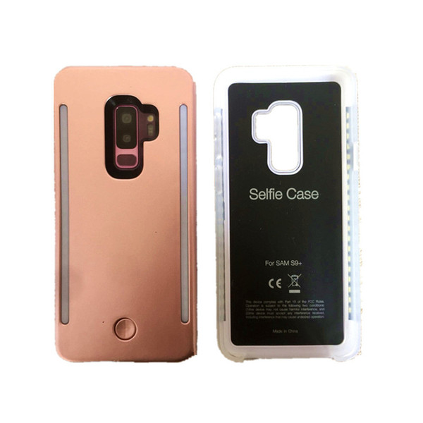 LED Light Up Glowing Phone Cases for Samsung galaxy S8 S8PLUS Cover For Samsung S9 S9Plus Case