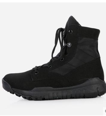 Bahar Yaz Erkekler Ayak Bileği Savaş Işık Rahat Ayakkabılar Erkek Taktikleri Çizmeler Çöl Askeri Ayakkabı Çizmeler Artı Boyutu 38--44