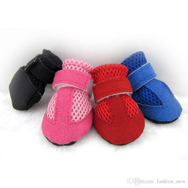 Factory Price Breathable Shoes Paw Protection Soft Shoes Safety shoes Booties Non-slip Pet Boots Pet Supplies Socks