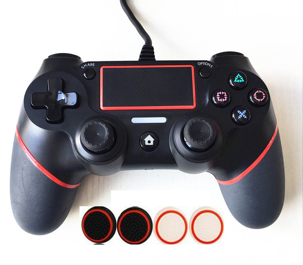 high quality PS4 PS 4 USB Wired Game Controller for Sony PS4 Playstation 4 Dualshock 4 Joystick Gamepads with 1.8M Cable Updated Version