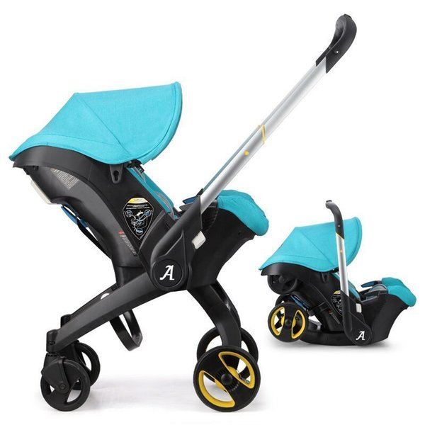 baby stroller 3 in 1 foldable Portable Travel pushchair infant basket car seat stroller Neonatal carriage
