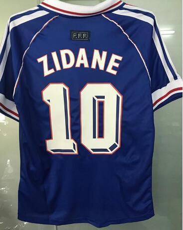 1998 1999 FRANCE 98 99 Camiseta Adult short Shirts soccer jerseys Survetement Maillot De Men short Jersey