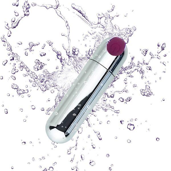 Usb recarregável forte adulto sexo produto usb vibrador, 10 velocidade de vibração mini bala forma impermeável vibrador g-spot massageador