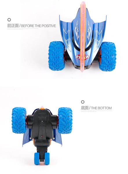 Children's toy car remote control charging electric flip pop tipper off-road boy remote control car