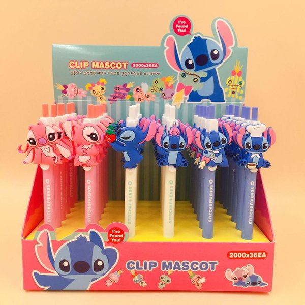 Stitch Monster Press Ballpoint Pen School Office Supply Gift Stationery Papelaria Escolar