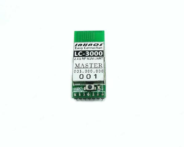 LC-3000-Master Multi to Multi 2.4GHz Wireless RF UART Data Transveiver Module 115K For Arduino Compatible Remote upload sektch