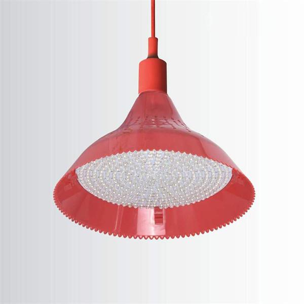 Seafood supermercado carnes frias de porco pingente cozido luz 25 Potência LED fresco Loja Luz ajustável Lâmpada LED