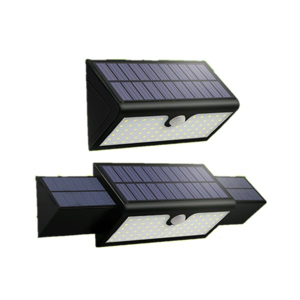 New 71 LED Solar Light Night Lamp Motion Sensor Waterproof Outside Wall Patio Yard LED Solar Lighting Energy Garden Lamp iris128
