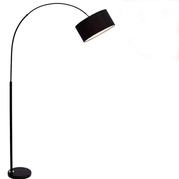 Moderne Stoff Schatten Stehlampe Nachttisch Angeln Stehlampe kurze Stil