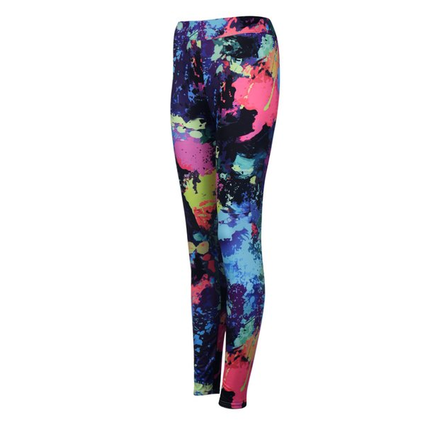 Printed stretch Palestra Donna Sports Leggings Fitness Quick-drying Sports Tights Breathable Roupas Fitness Feminina Academia#YL
