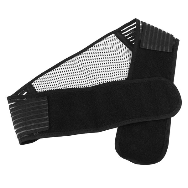 Portable Adjustable Elastic Infrared Self-Heating Magnetic Therapy Back Waist Support Lumbar Brace Belt Double Pull Strap