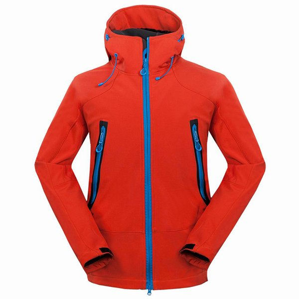 Mountainskin Outdoor Softshell Men's Hiking Jackets Waterproof Windproof Thermal Jacket For Camping Ski Thick Warm Coats RM133