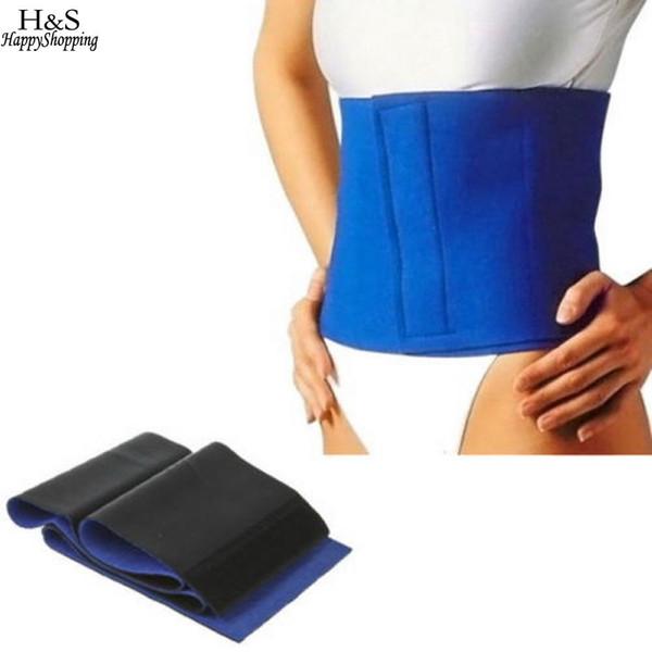 d128095855 Wrap Waist Body free Fat Cellulite Sweat Slimming shipping Neoprene  Exercise Belt