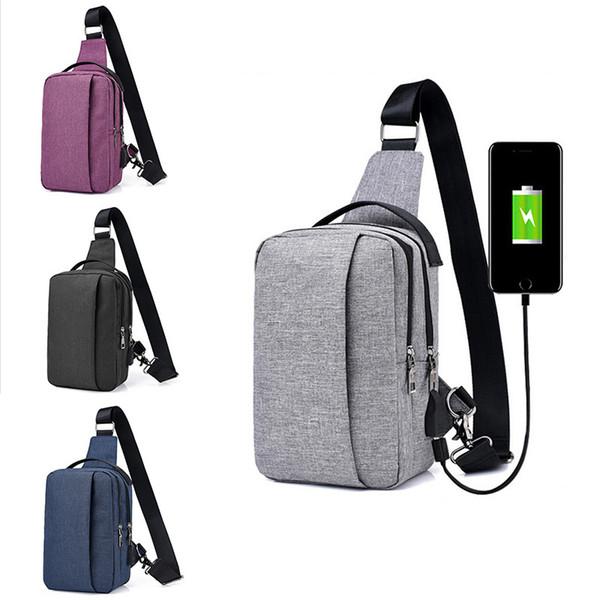 top popular Mini USB Design Waist Bag Wallet Gift Large Capacity Chest Bag Hot-Selling Crossbody Designer Travel Bag 2020