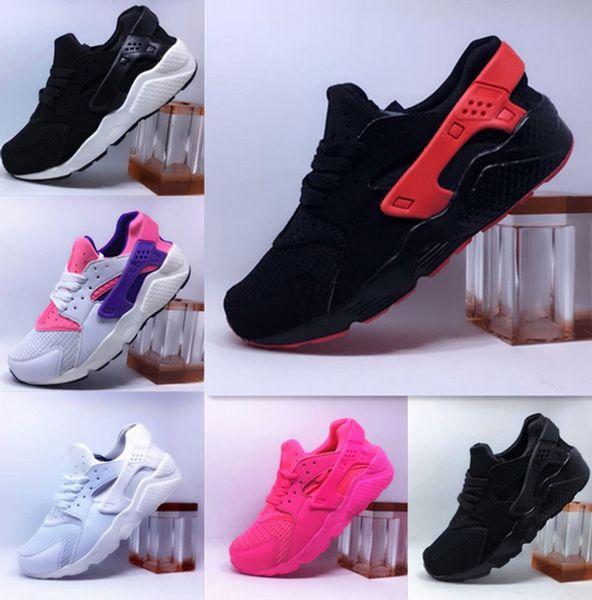 2018 Air Huarache Ultra zapatos deportivos para hombres, mujeres, hombres, hombres, blanco y negro Air Huaraches, zapatillas deportivas deportivas, entrenadores