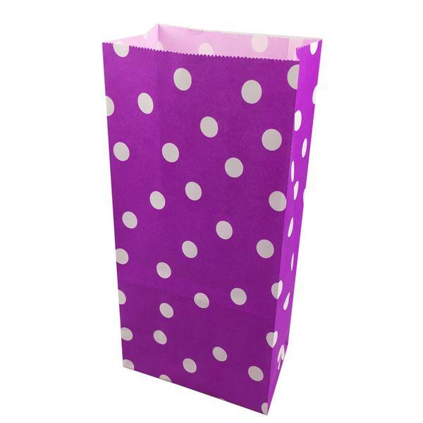 09 Purple Polka Dot