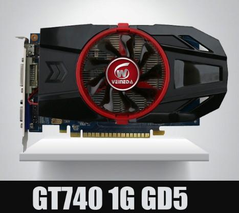 Geforce Chipset Video Graphic Card GT740 1GB GDDR5 128BIT Stronger Than GT730, GT640