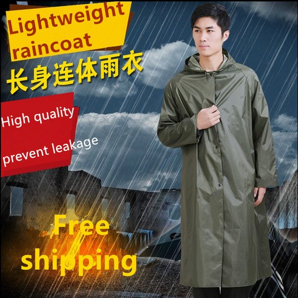 best selling 1pc New waterproof raincoat Unisex Adults Raincoat Poncho Hood Travel Trip Camping Hiking Must Use Rain Coat Free shipping