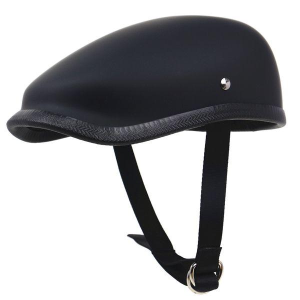 Japanese Style Retro Motorcycle helmet Light weight Fiberglass Motor helmet 650g only Berets for adults rider
