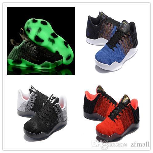 39950924002 2018 Newest High Quality Kobe 11 Elite Men Basketball Shoes Kobe 11 Red  Horse Oreo Sneakers