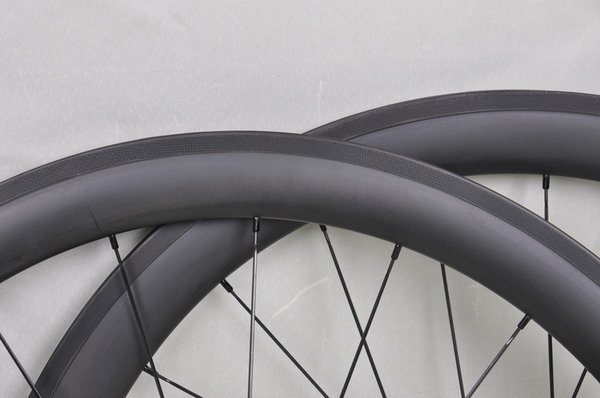Cubos de carbono Super Light Super 50mm Carbon Road Wheels Clincher Tubular Mejores juegos de ruedas de bicicleta 50mm Carbon Bike Wheelset 60 88mm