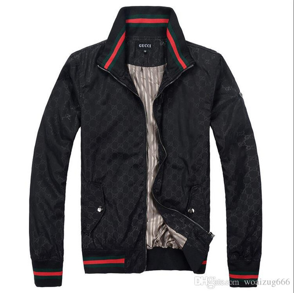 82f2a71dc HOT Mens luxurious brands LOGO GUCCI jackets Spring and autumn new classic  high quality Casual Coats