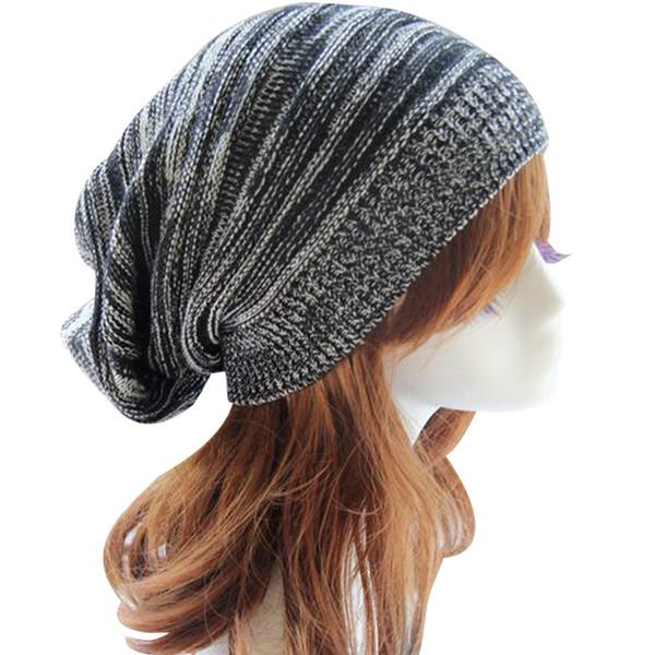 20PCS / LOT SINGYOU Heißer Verkauf Warme Wintermütze für Frauen Doppel Farben Beanie Bonnet Cap Hip Hop Hut Verdicken Strickmütze Gorro