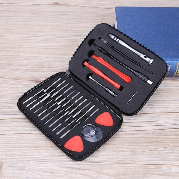 32 in 1 Multifunctional Screwdriver Set Repair Disassembly Tool Kit for Mobile Phone Notebook Professional Tool Bag
