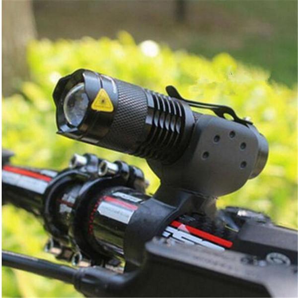 Mini bicicletta luce anteriore bici anteriore luci 3 modalità Zoom Q5 LED bicicletta luce accessori bicicletta bisiklet aksesuar