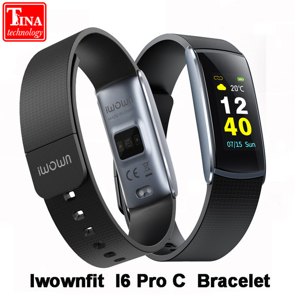 New Arrival IP67 Waterproof iWOWNfit i6 Pro C Smart Bracelet Fitness Band Heart Rate Monitor iwown I6 Pro C for IOS Android