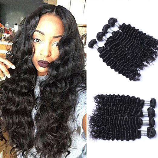 4pcs/lot Malaysian Nature Wave Virgin Hair Weave Remy Human Hair Extensions Natural Color No Shedding Tangle Free Can Be Dyed Bleached