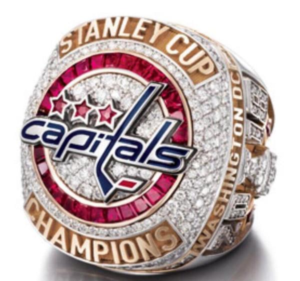 Date 2017 2018 Capitals de Washington OVECHKIN Coupe Stanley Championship ring cadeau de Noël en gros Drop Shipping