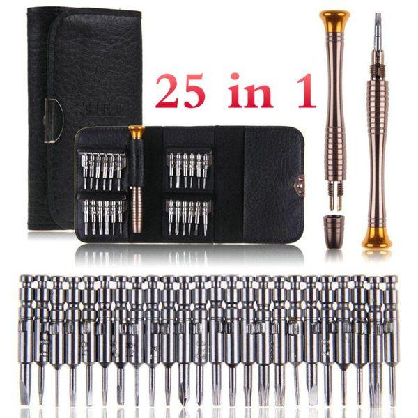 25 in 1 Set di cacciaviti Torx Kit Herramientas Ferramentas Cacciavite Set di strumenti di riparazione per IOS Smart Phone BE Utensili a mano