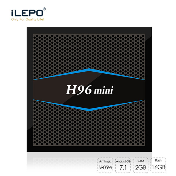 H96 mini Android TV Box Amlogic S905W 2GB 16GB Android 7.1 support BT 4.0 2.4G/5G Wifi smart tv Box