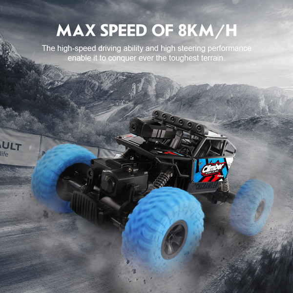 JJRC Q45 RC Car 1/18 2.4G 4WD 8KM/H Off-Road Vehicle With Dual Control Mode And HD Camera RC Car