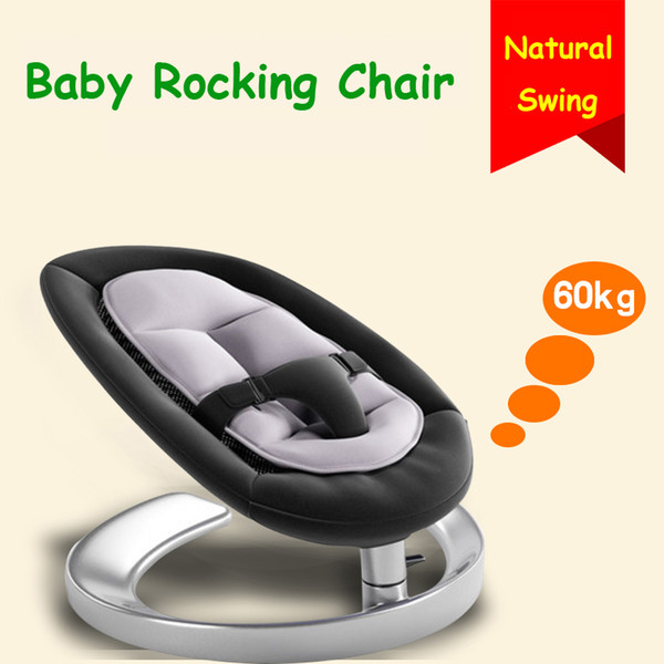 cheap for discount e0e40 4e9a3 Baby Rocking Chair, Rocker Chair For 0~7 Years Old Kids, Infant Swing  Cradle, Baby Rocker Chair Inexpensive Rocking Chair Black Wood Rocking  Chair ...