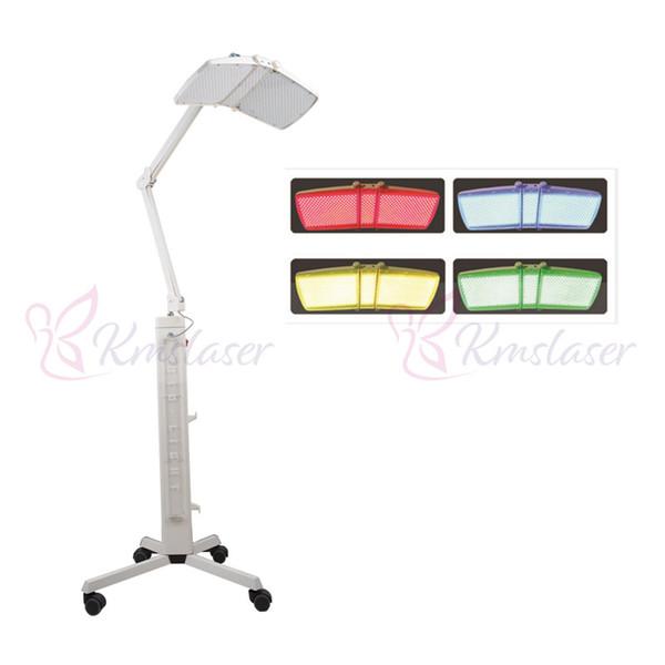 Machine de rajeunissement professionnel de peau de photon équipement facial de salon de beauté de lampe de couleur de laser de thérapie de PDT LED