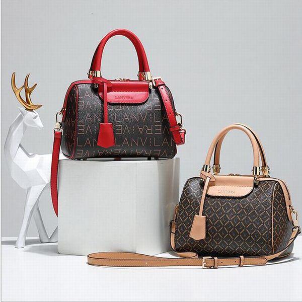New Style Boston Shoulder Bags Handbag Designer Fashion Women Luxury Handbags Ladies Crossbody Bag Tote Bags PVC Leather Manual Unique Bags